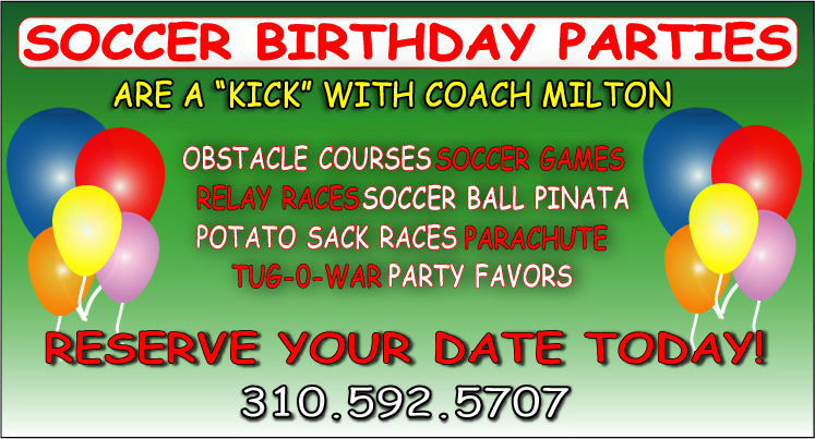 Soccer Birthday Parties